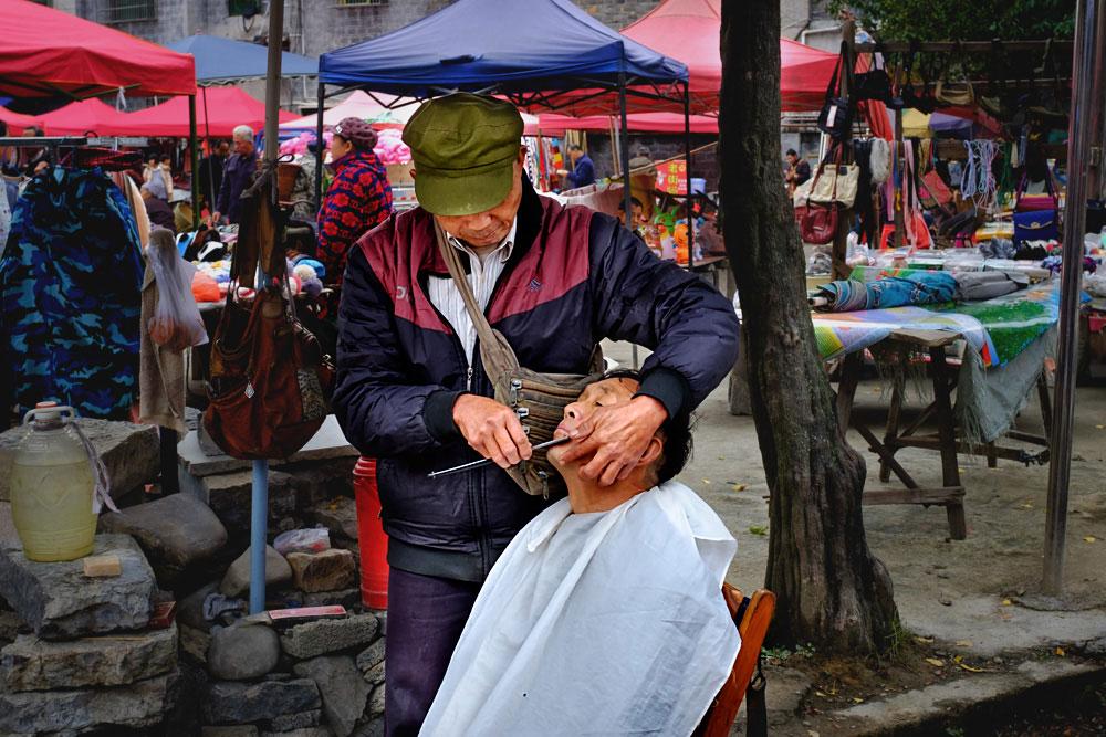 里耶街上的剃头匠